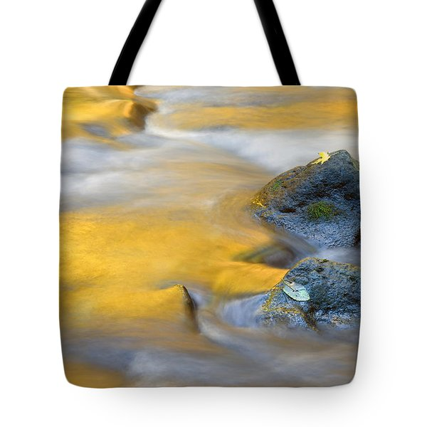 Golden Refuge Tote Bag by Mike  Dawson