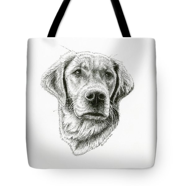 Golden Retriever Bliss Tote Bag