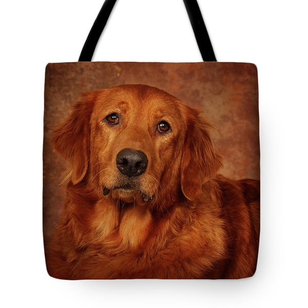 Tote Bag featuring the photograph Golden Retriever by Greg Mimbs