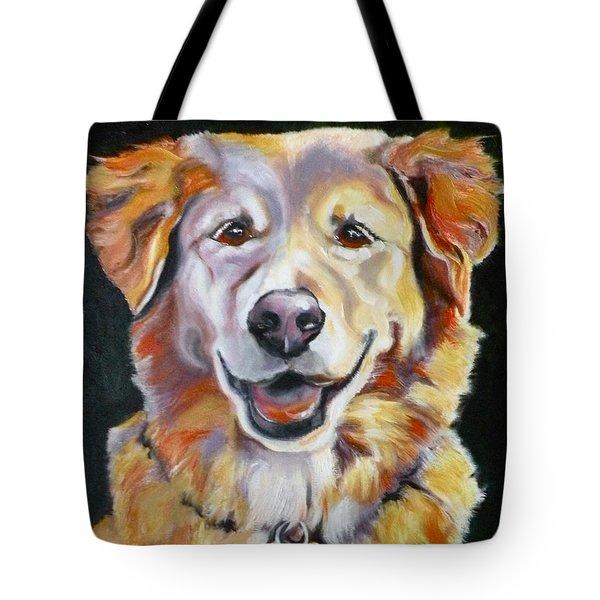 Golden Retriever Most Huggable Tote Bag