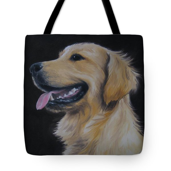 Golden Retriever Nr. 3 Tote Bag