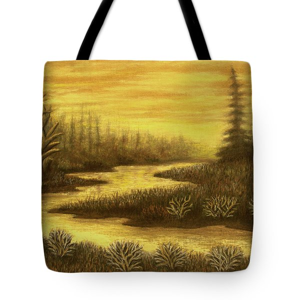 Golden River 01 Tote Bag