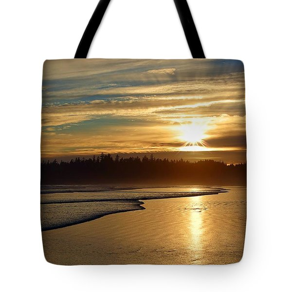 Long Beach, British Columbia Tote Bag