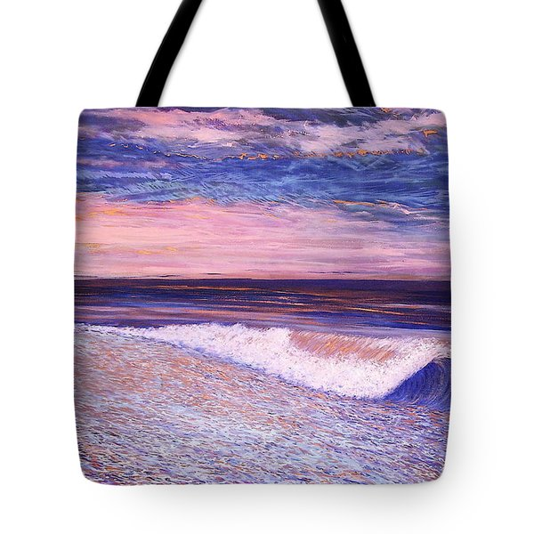 Golden Sea Tote Bag