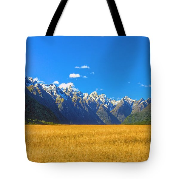 Golden Sea Tote Bag
