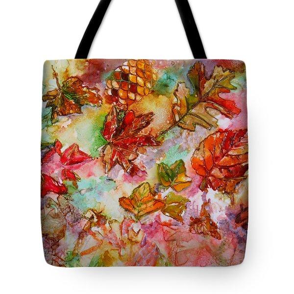 Golden Season Tote Bag