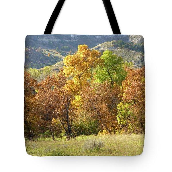 Golden September Tote Bag