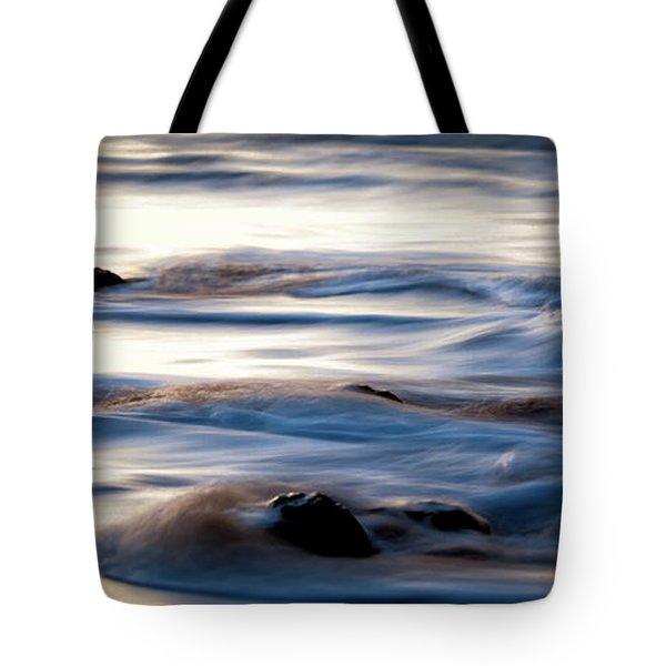 Golden Serenity Tote Bag