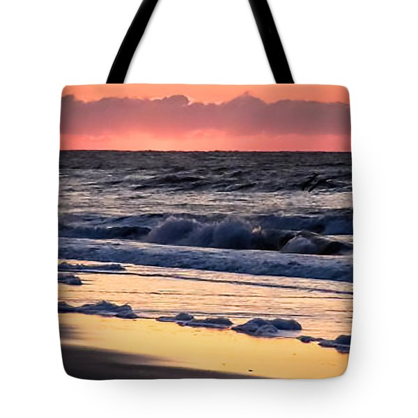 Golden Shores Tote Bag