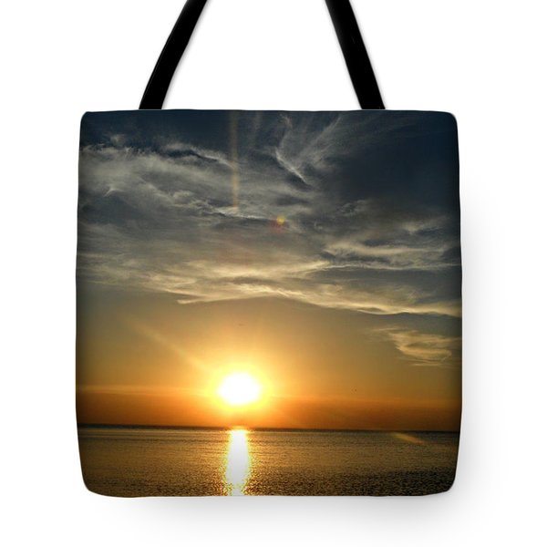 Golden Skies Tote Bag