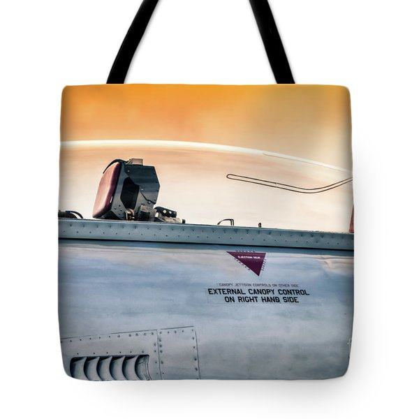 Golden Sky Tote Bag by Lawrence Burry