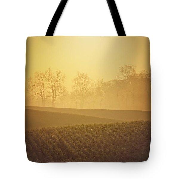 Golden Song Tote Bag