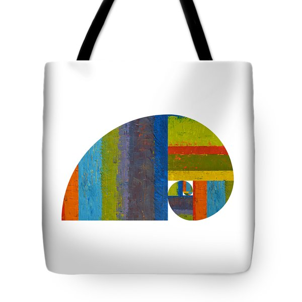 Golden Spiral Study Tote Bag