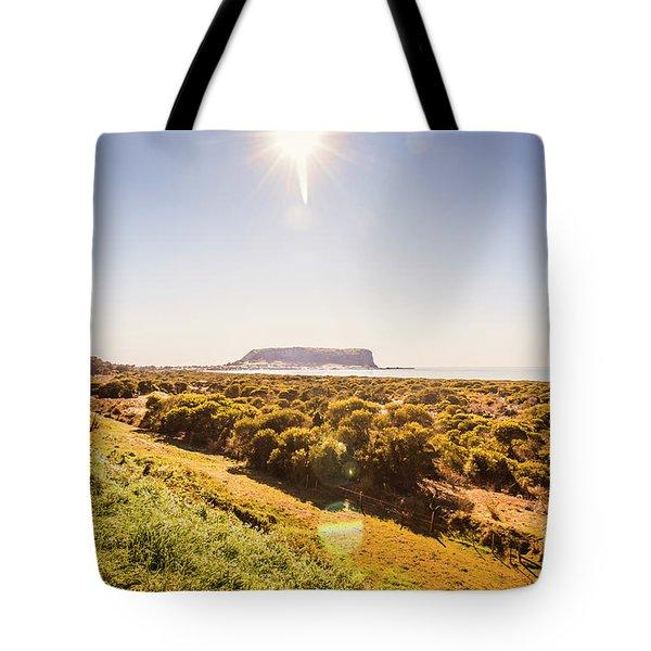 Golden Stanley Landscape Tote Bag