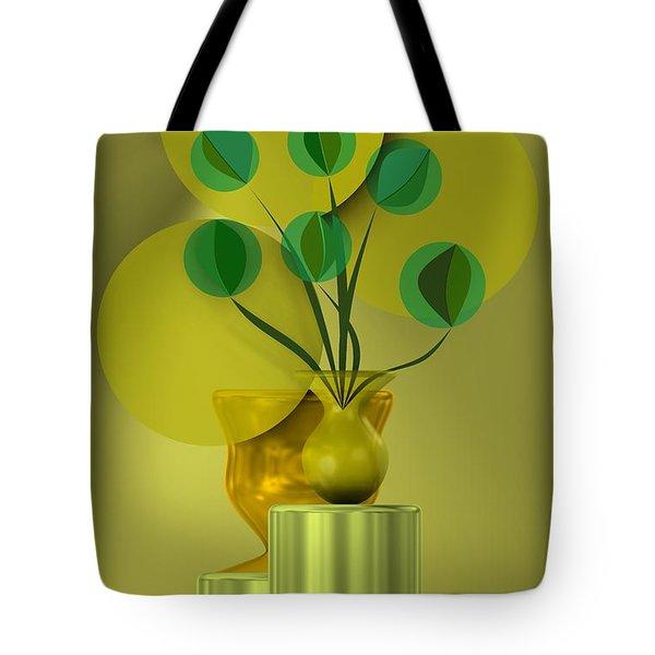 Golden Still Life Tote Bag