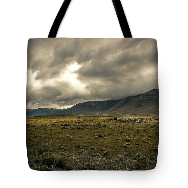 Tote Bag featuring the photograph Golden Storm by Andrew Matwijec