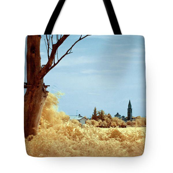 Tote Bag featuring the photograph Golden Summer by Helga Novelli