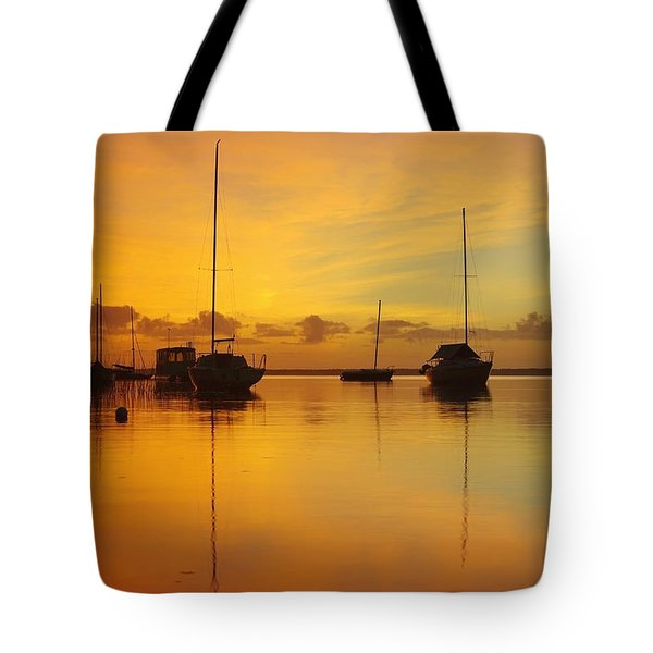 Golden Sunrise At Boreen Point Tote Bag