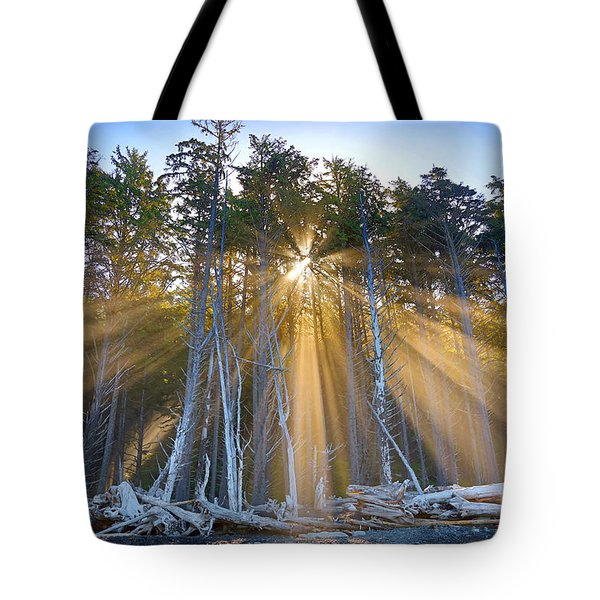 Golden Sunrise Tote Bag by Martin Konopacki