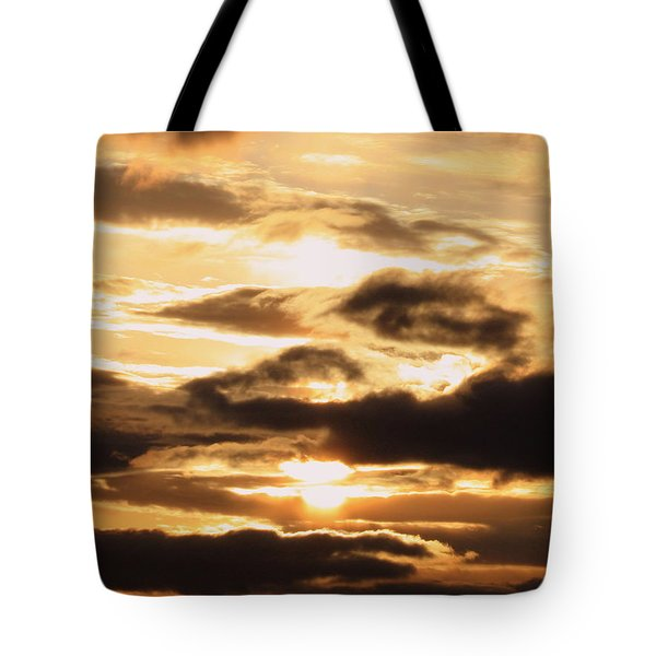 Golden Sunset Tote Bag by Carol Groenen