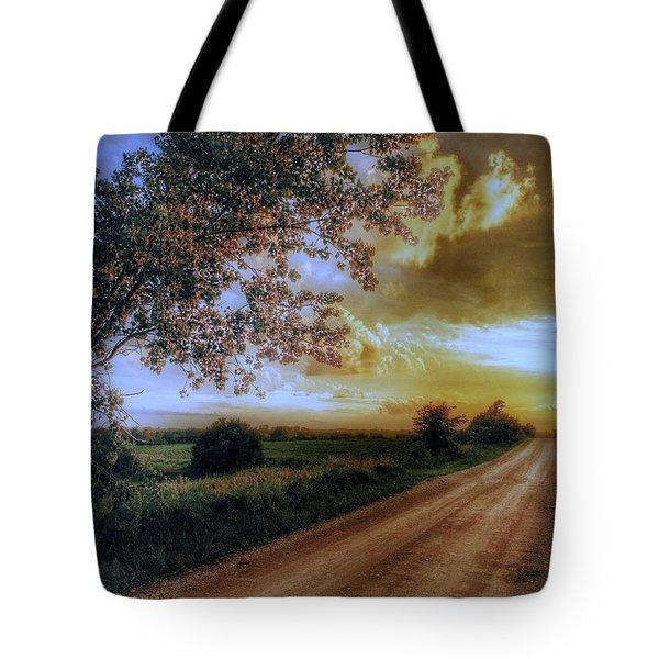 Golden Sunset Tote Bag by Dustin Soph