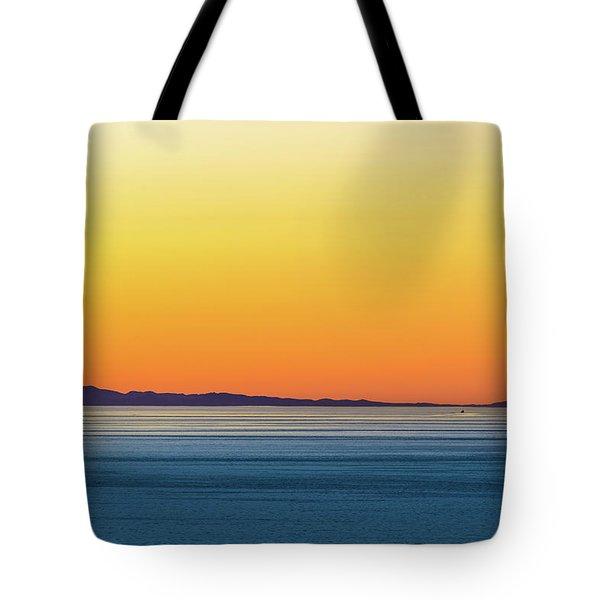 Golden Sunset Series I Tote Bag