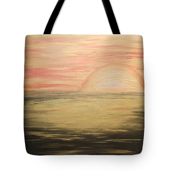Golden Sunset Tote Bag by Rachel Hannah