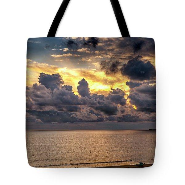 Golden Surf - Point Dume, California Tote Bag