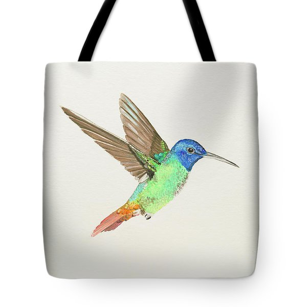 Golden-tailed Sapphire Tote Bag