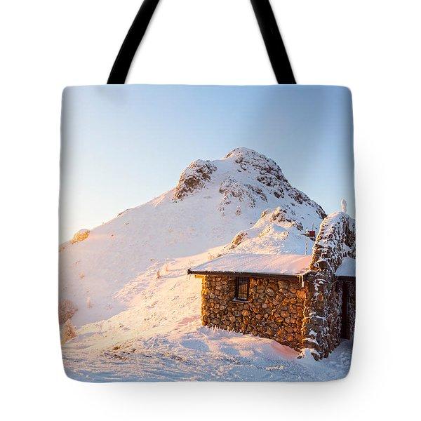 Golden Temple Tote Bag by Evgeni Dinev