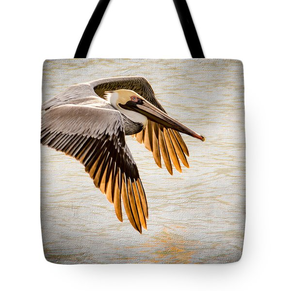 Golden Tips Tote Bag