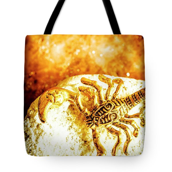Golden Treasures Tote Bag
