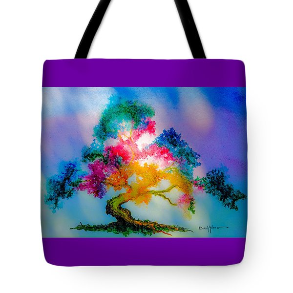 Da183 Golden Tree Daniel Adams Tote Bag