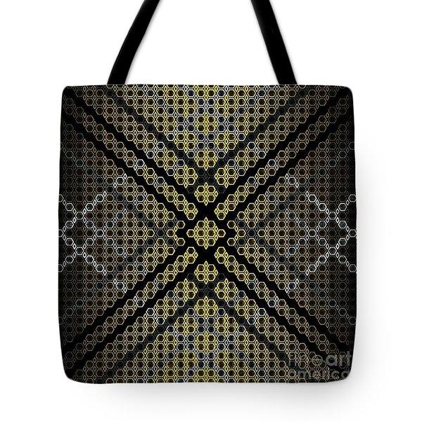 Golden Tri Tote Bag