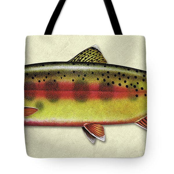 Golden Trout Id Tote Bag
