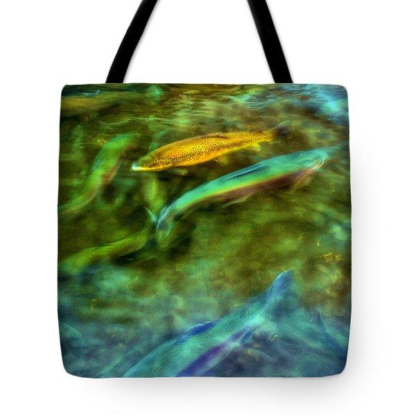 Golden Trout Tote Bag