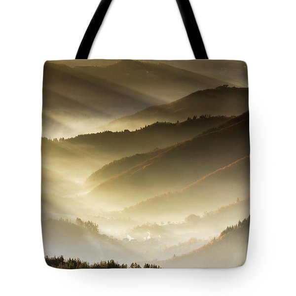 Golden Valley Tote Bag by Evgeni Dinev
