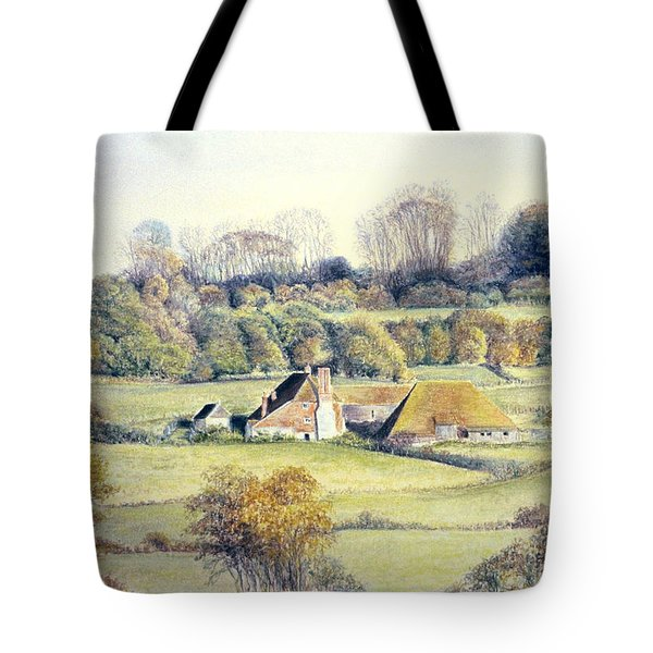 Golden Valley Tote Bag by Rosemary Colyer