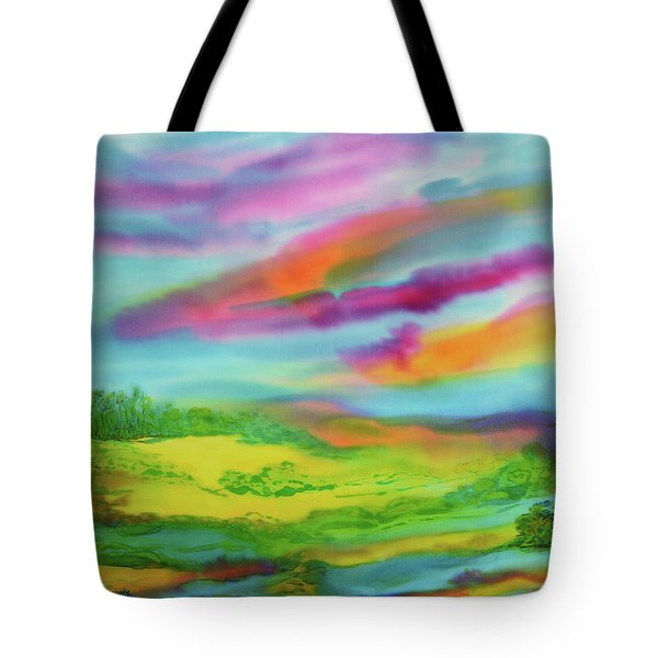 Escape From Reality Tote Bag by Susan D Moody