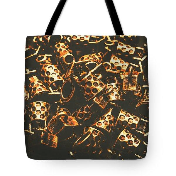 Golden Wells Tote Bag