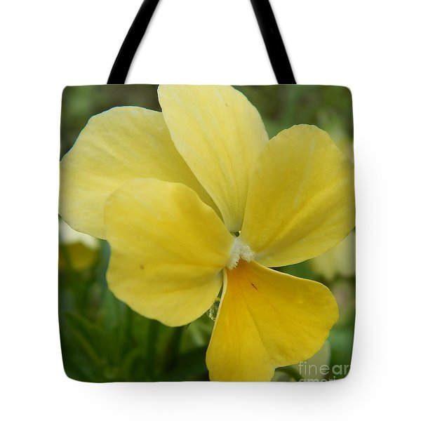 Golden Yellow Flower Tote Bag