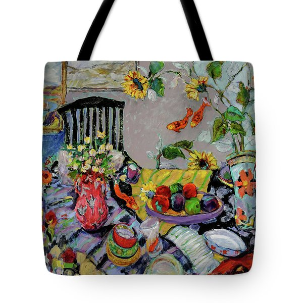 Goldfish Rumble Tote Bag