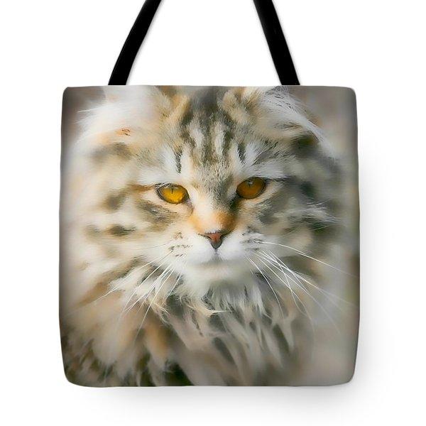 Goldie Golden Eyes Tote Bag