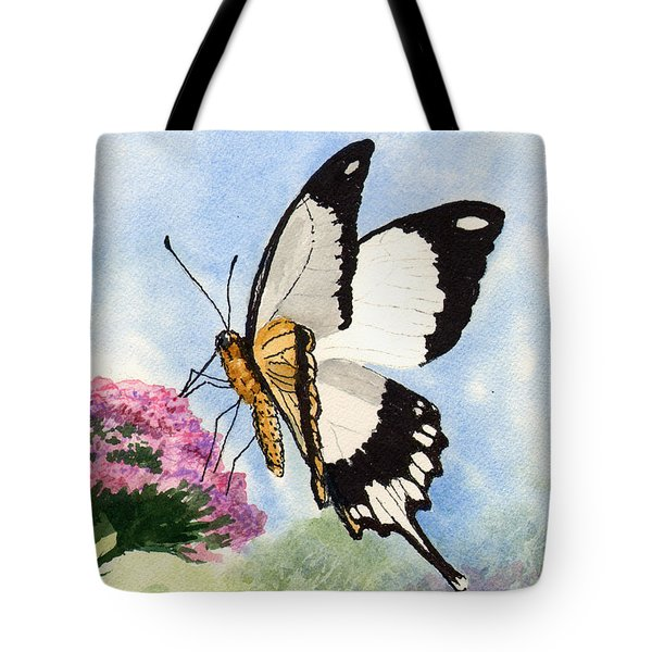 Tote Bag featuring the painting Goldie by Sam Sidders