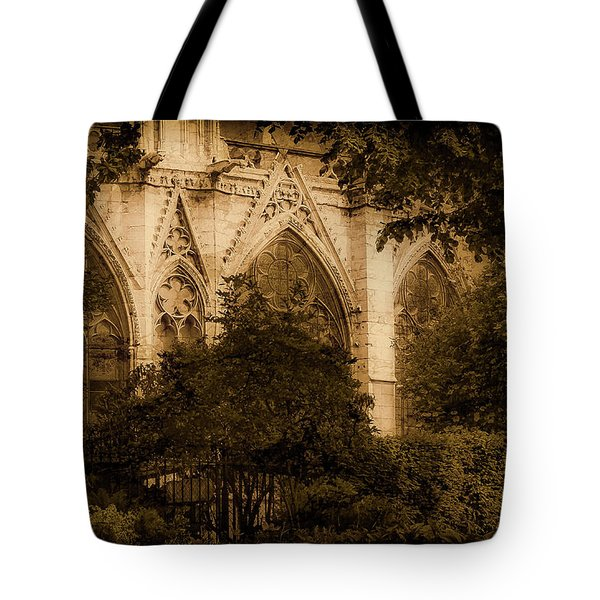 Paris, France - Goldoni In The Park Tote Bag