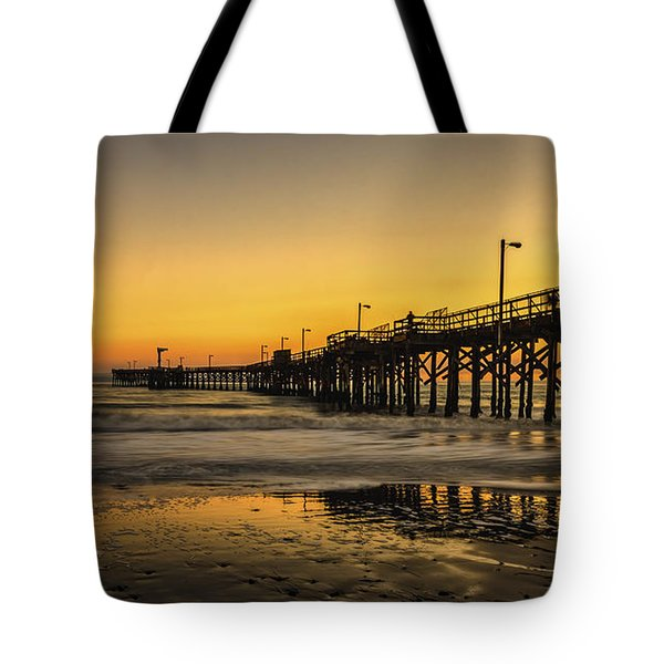 Goleta Sunset Tote Bag