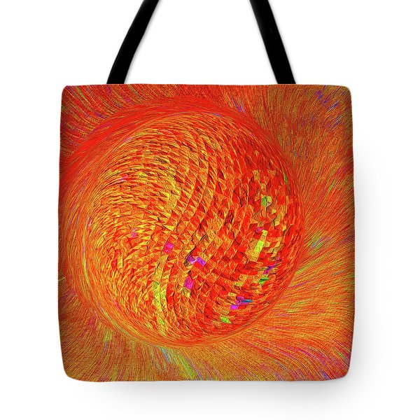 Golf Ball Star 3 Tote Bag by Bruce Iorio