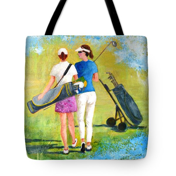 Golf Buddies #1 Tote Bag