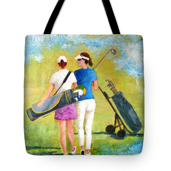 Golf Buddies #1 Tote Bag