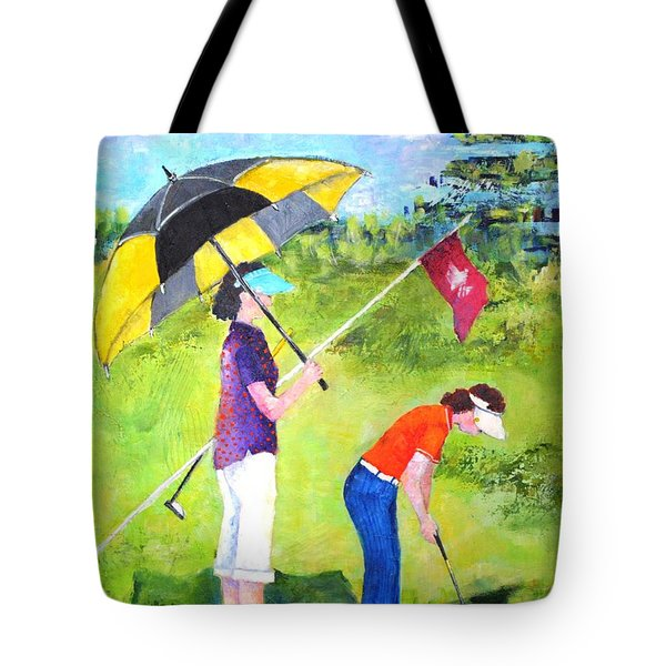 Golf Buddies #3 Tote Bag